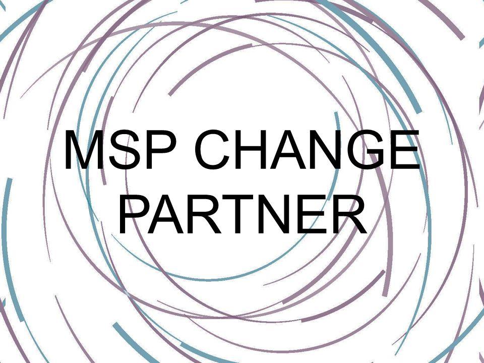 MSP CHANGE PARTNER