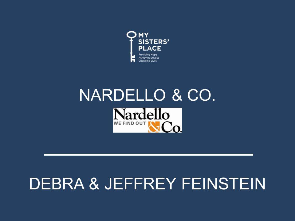 NARDELLO & CO. DEBRA & JEFFREY FEINSTEIN