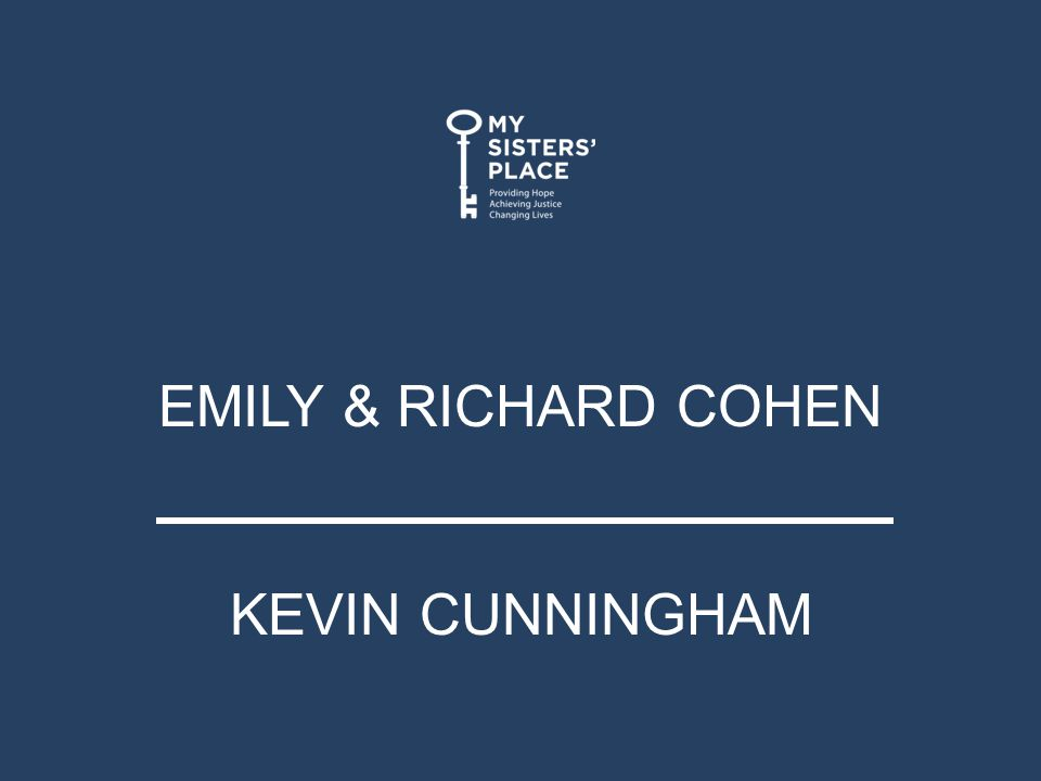 EMILY & RICHARD COHEN KEVIN CUNNINGHAM