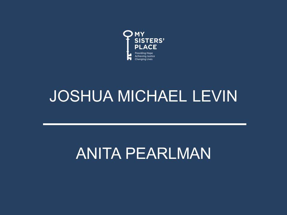 JOSHUA MICHAEL LEVIN ANITA PEARLMAN