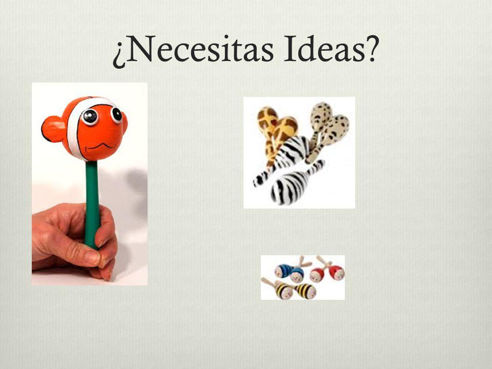 ¿Necesitas Ideas?