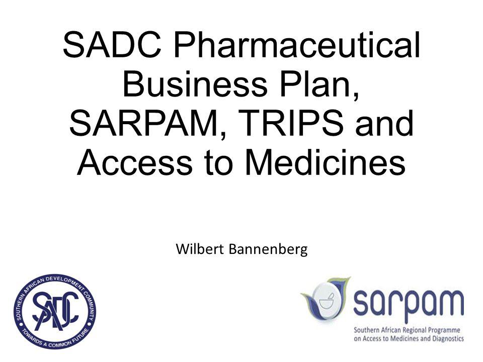 SADC pharmaceutic al Business Plan 2007-2013