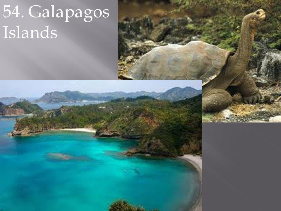 54. Galapagos Islands