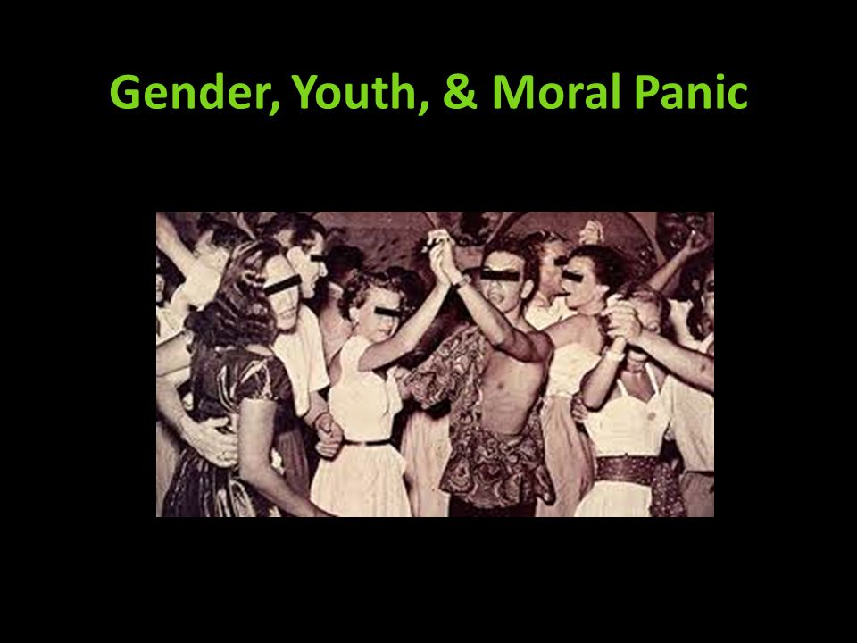 Cynthia Comacchio, Dancing to Perdition (1997) Between WWI and WWII, concern with effects of modernization on youth, notably worry concerning leisure activities Connection between citizenship, national welfare, modernity