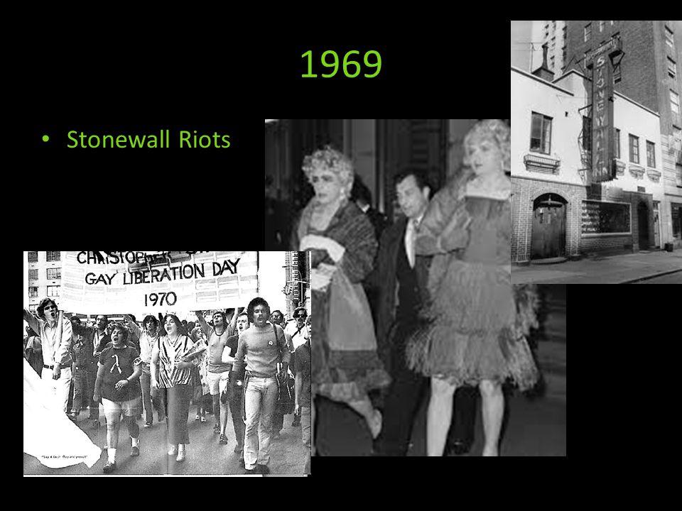 1969 Stonewall Riots