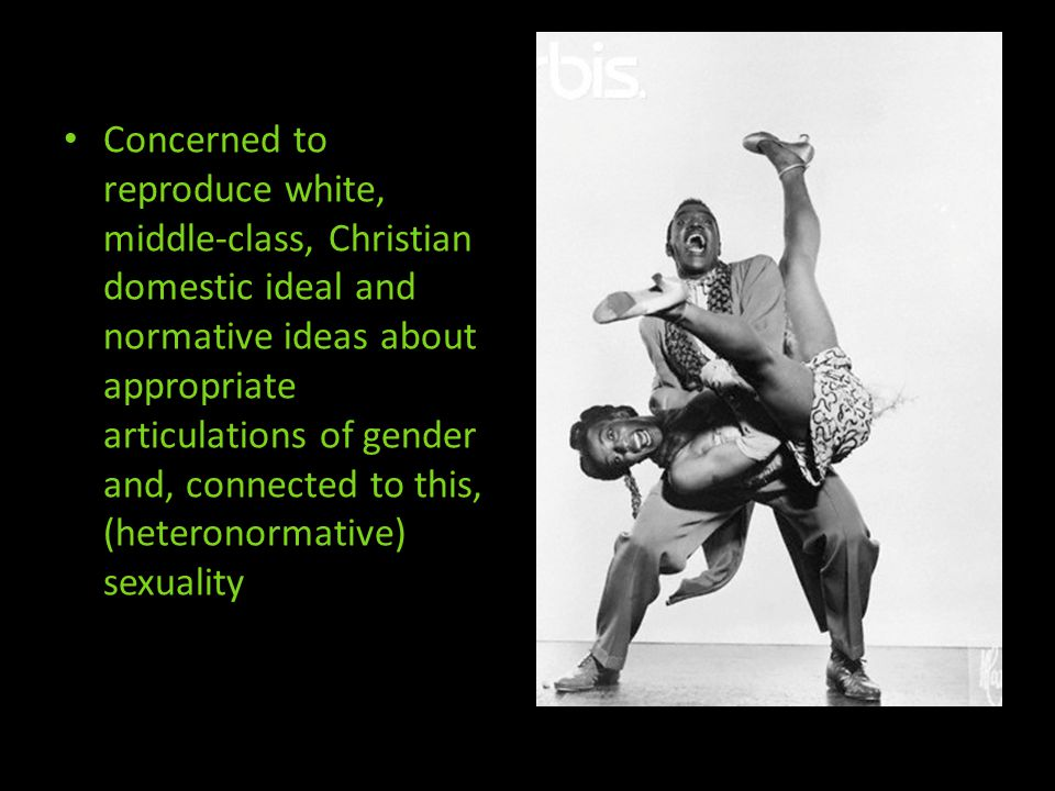 Anxieties concerning social and racial hygiene, but also about class hierarchies and separations Expressed in discourses around music and dancing as immoral, indecent Concern about crime and sexuality in movies because impressionable youth emulate what they see, males emulating criminal behaviours/sexuality, females emulating sexualities on screen