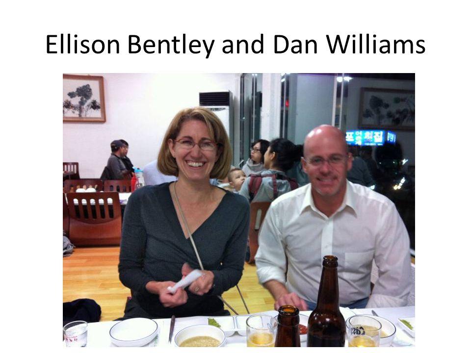 Ellison Bentley and Dan Williams