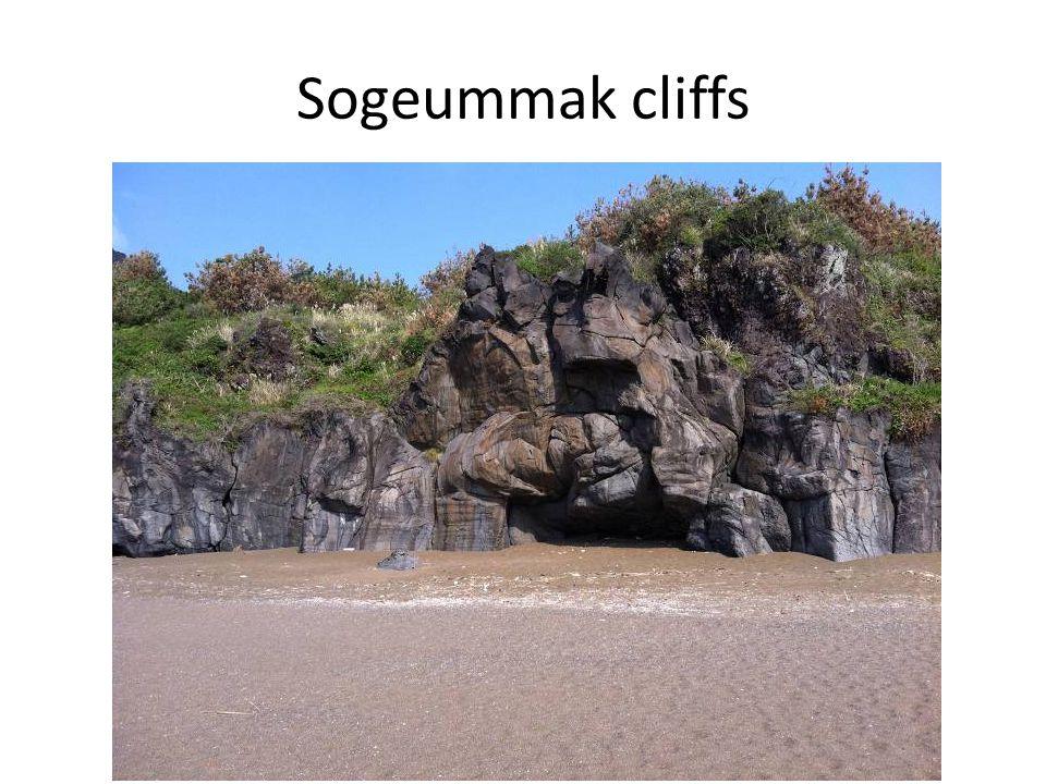Sogeummak cliffs