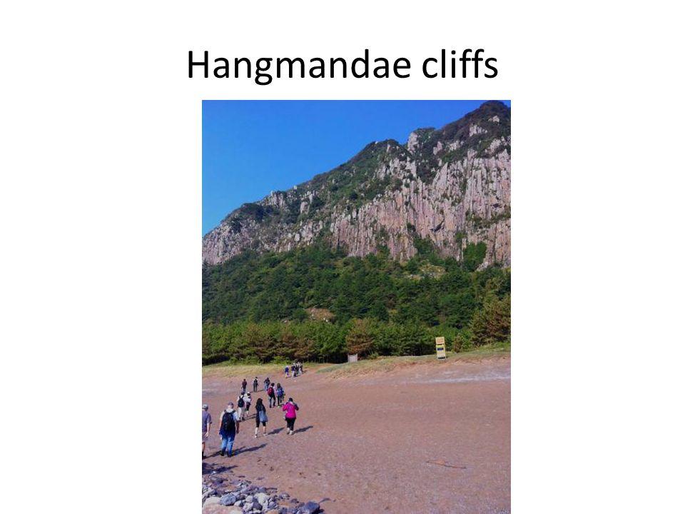 Hangmandae cliffs