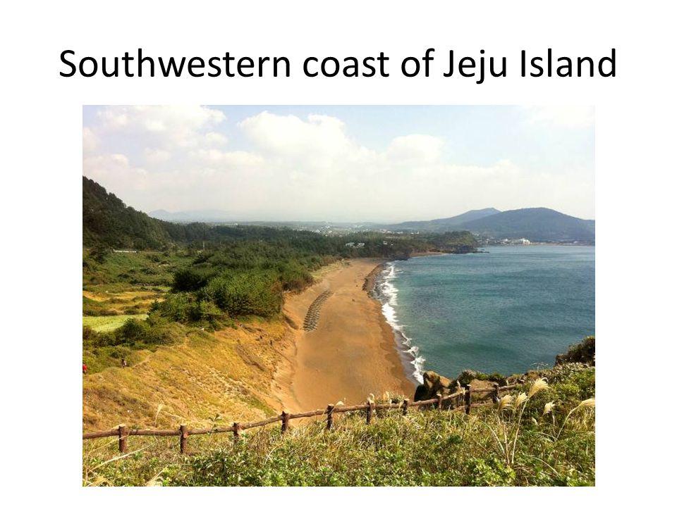 Southwestern coast of Jeju Island