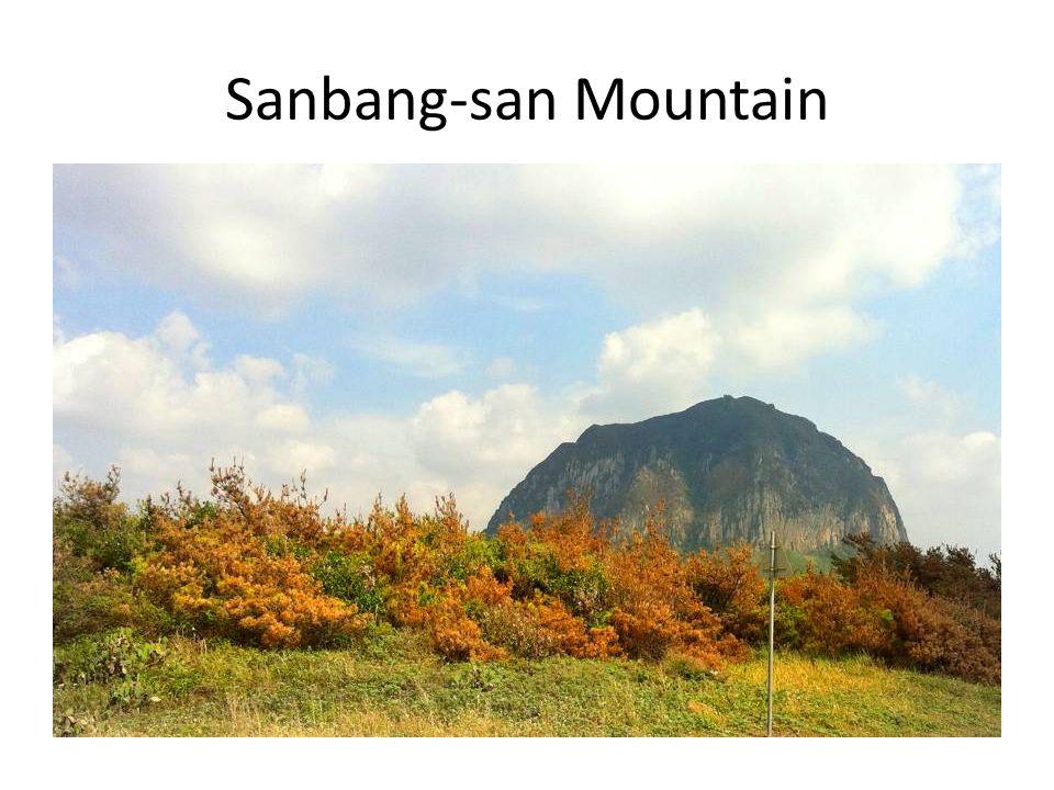 Sanbang-san Mountain