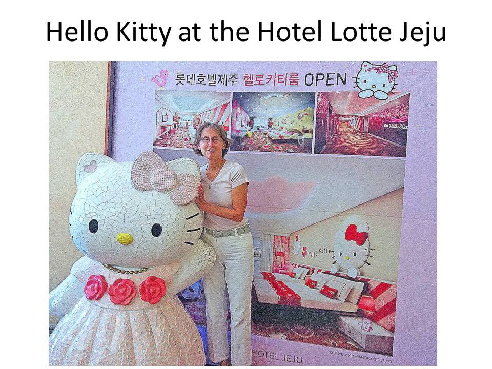 Hello Kitty at the Hotel Lotte Jeju