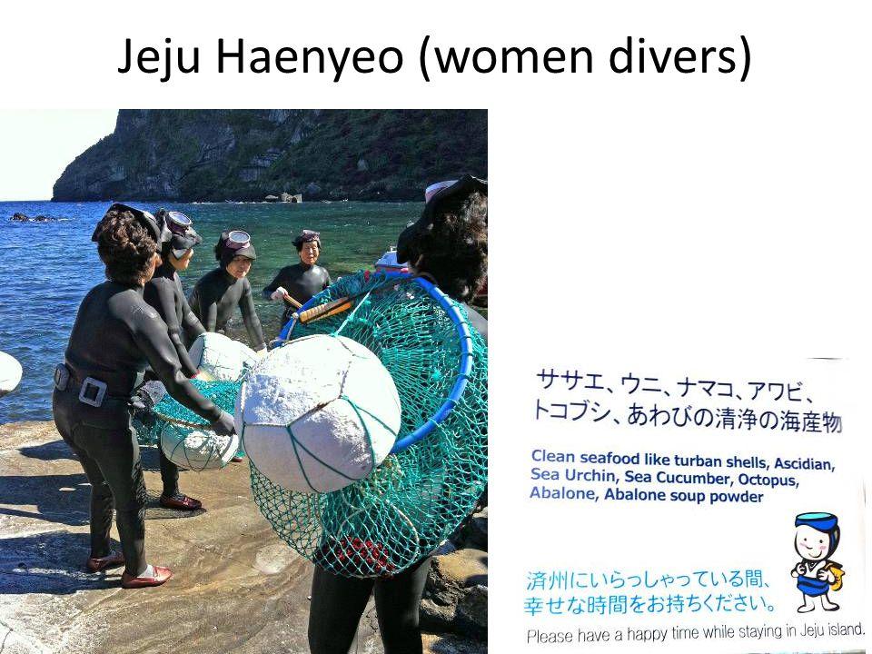 Jeju Haenyeo (women divers)