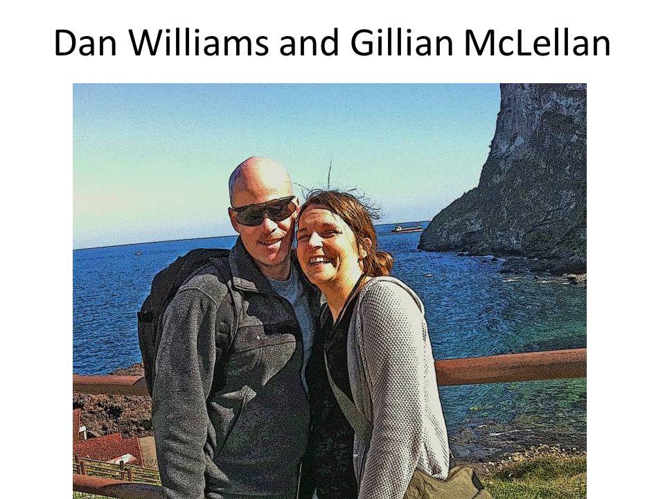 Dan Williams and Gillian McLellan