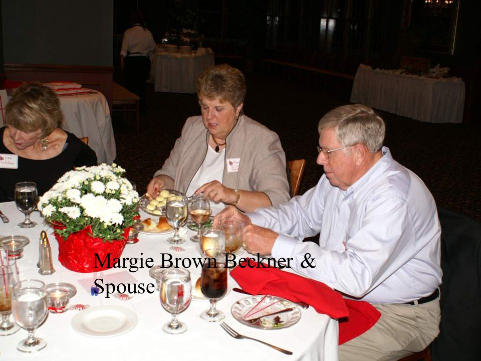 Margie Brown Beckner & Spouse