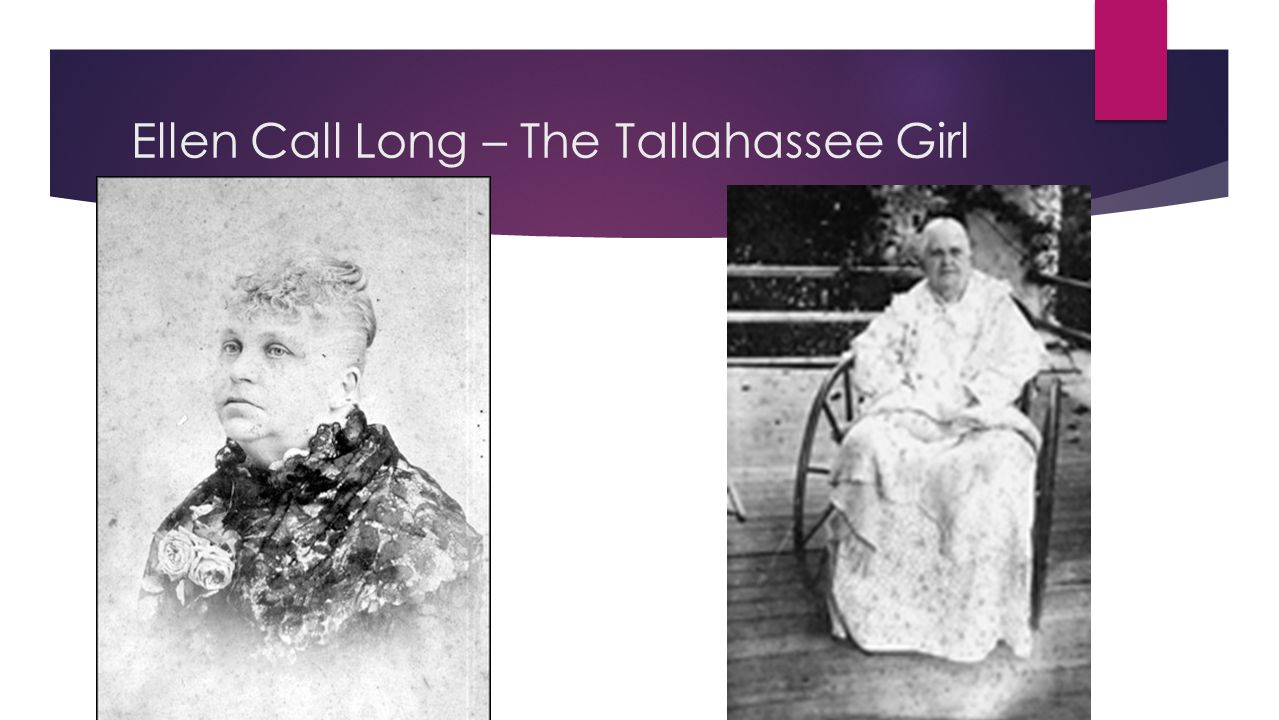 Ellen Call Long – The Tallahassee Girl
