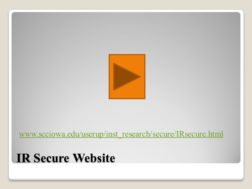 IR Secure Website