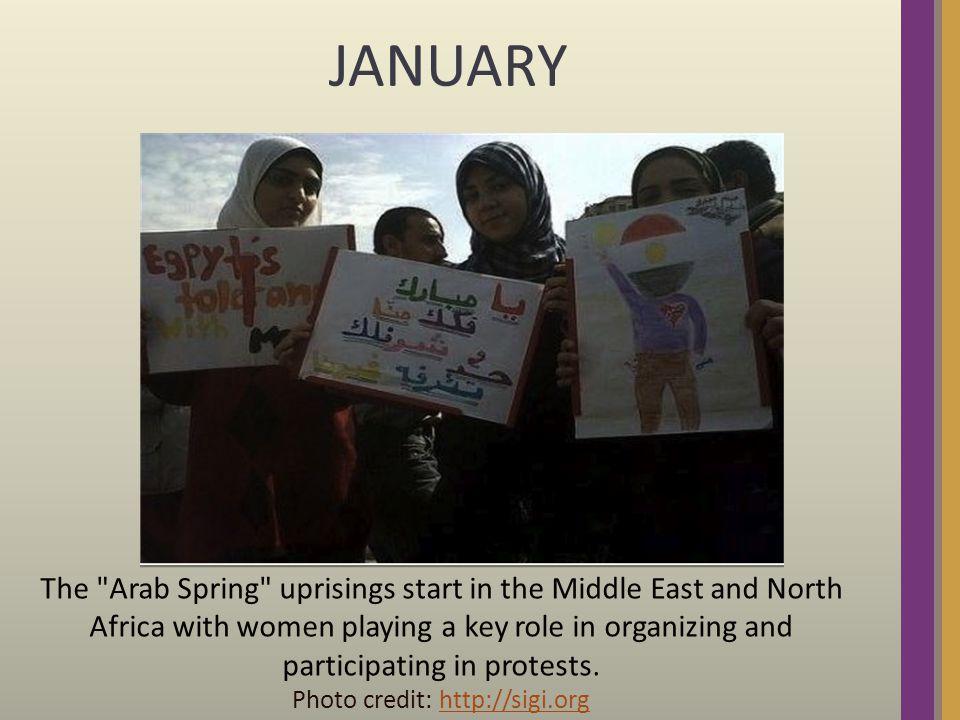 FEBRUARY Egyptian uprising topples Hosni Mubarak s 29 year presidency.