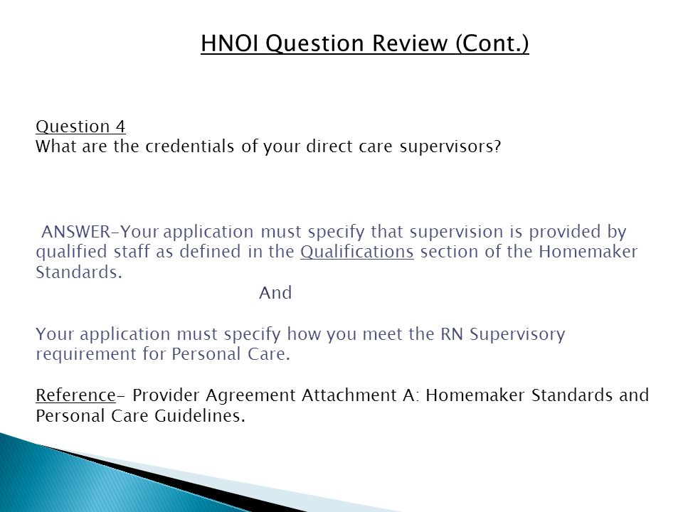 HNOI Question Review (Cont.) Question 5 (questions relating to Hiring and Equal Opportunity) 1.