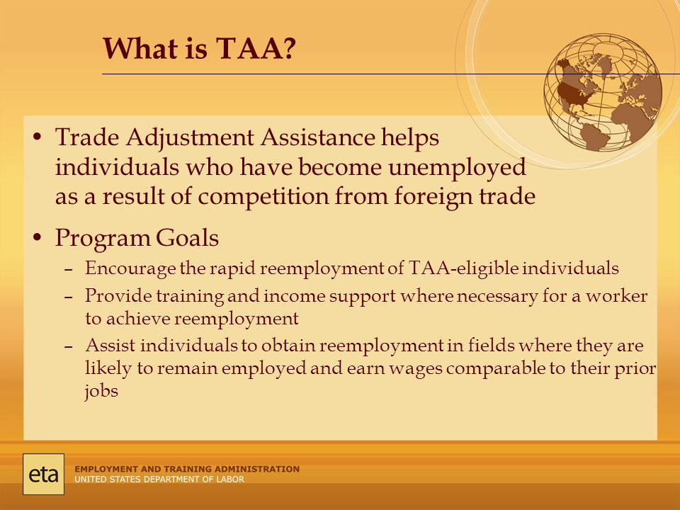 What is TAA.