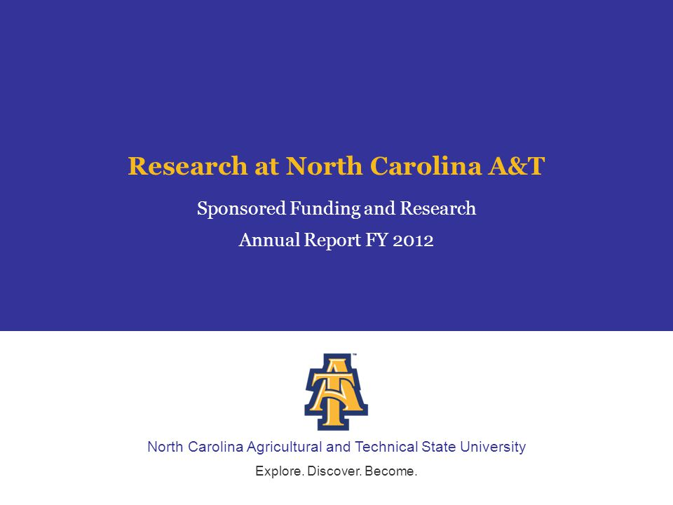North Carolina Agricultural and Technical State University Explore.