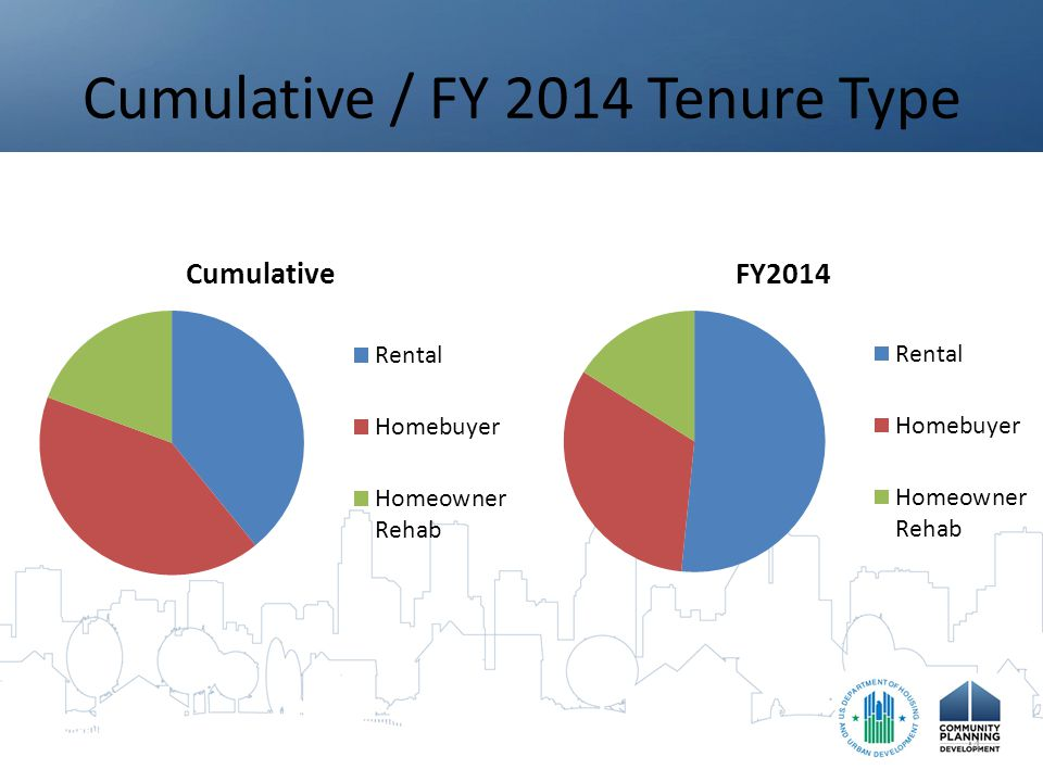 Cumulative / FY 2014 Tenure Type 4