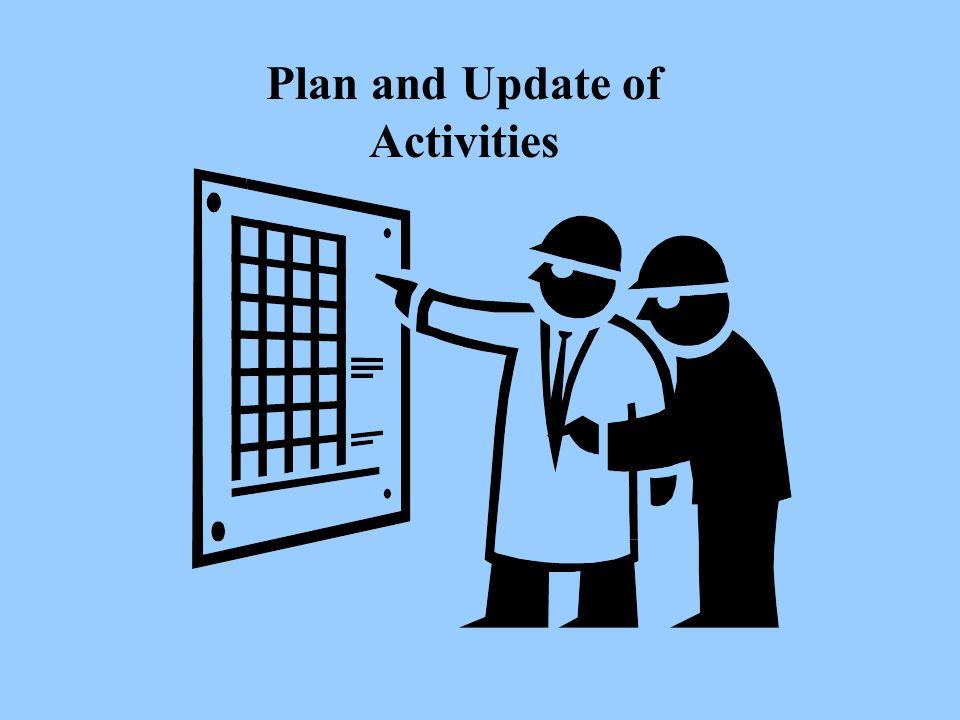 Plan and Update of Activities