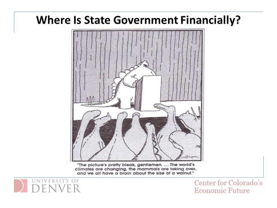Where Is State Government Financially?