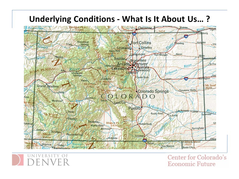 Underlying Conditions - What Is It About Us… ?