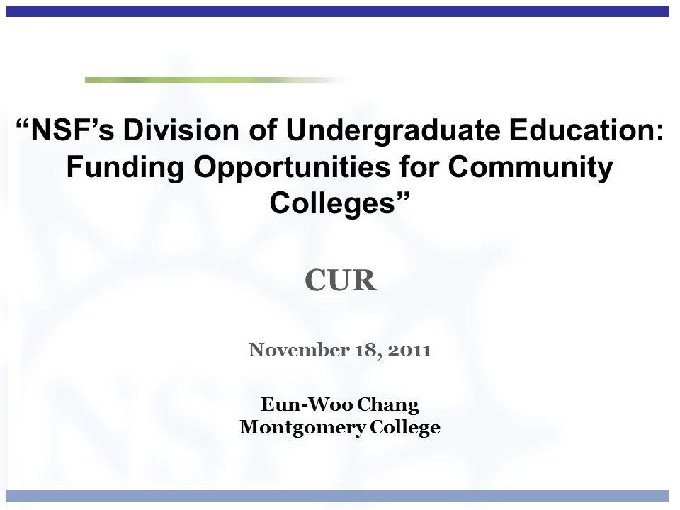 Robert Noyce Teacher Scholarship Program PROGRAM SOLICITATION NSF NSF 11-517