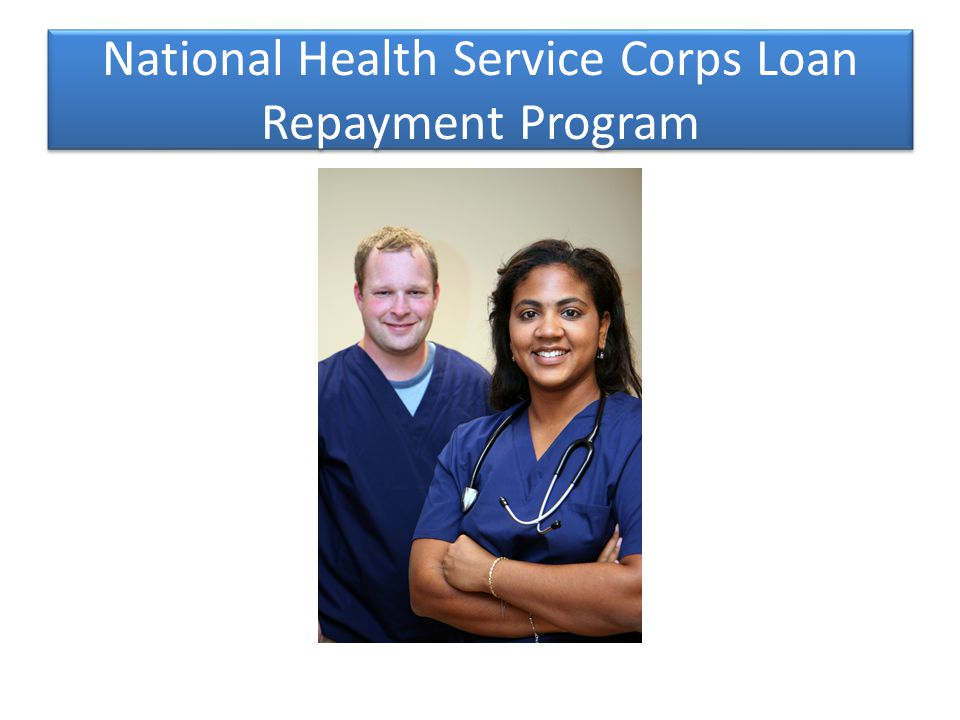 National Health Service Corps Loan Repayment Program