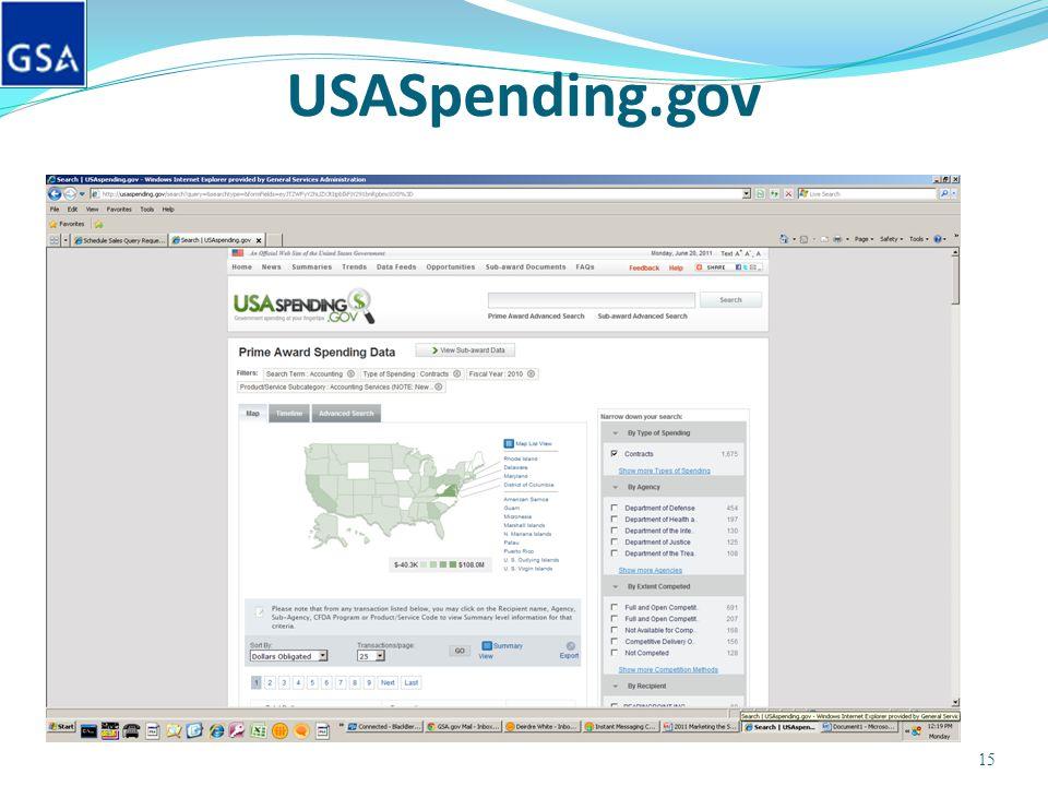 USASpending.gov 15