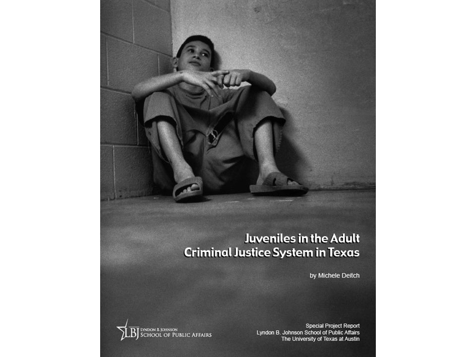 Prior TYC Commitment for Certified Juveniles FY 2005 – 09 Source: Texas Juvenile Probation Commission Data, 2010