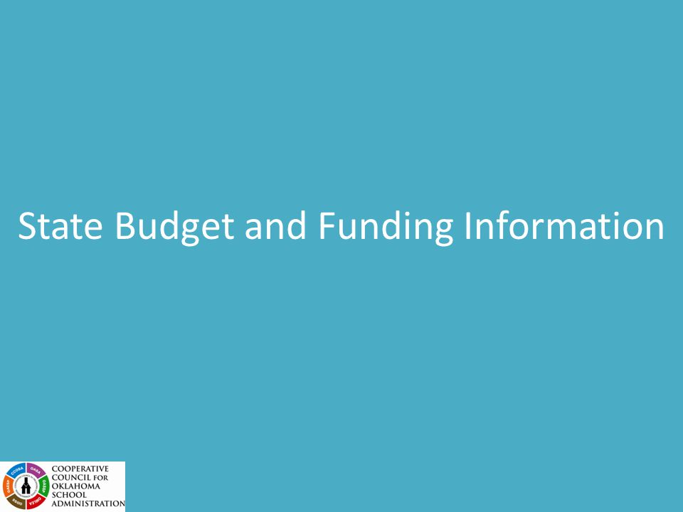 The SDE Activities Budget