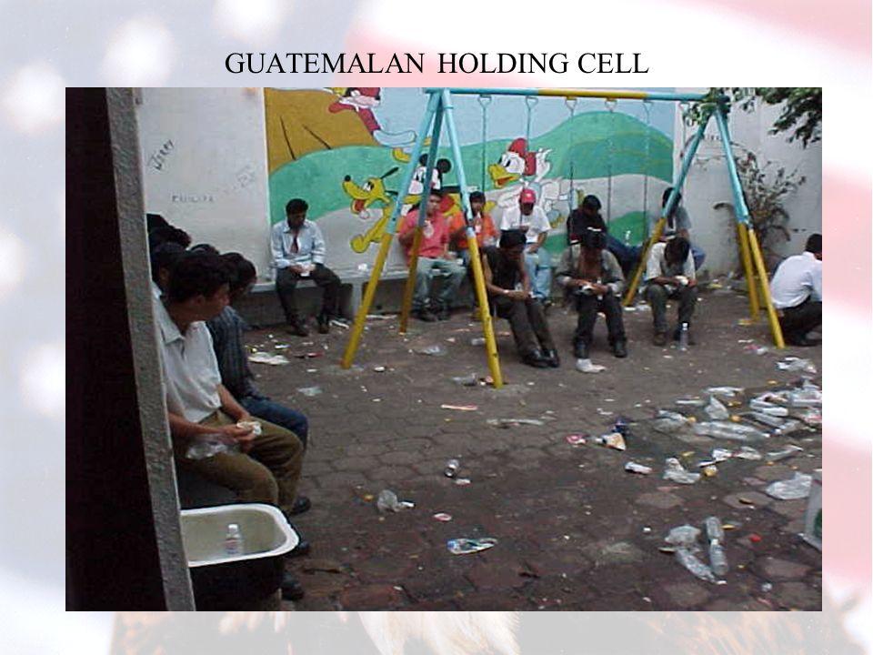 TAPACHULA HOLDING CELL, HONDURAS
