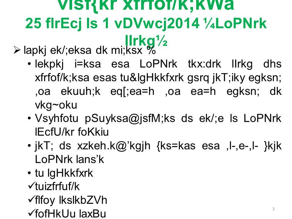 visf{kr xfrfof/k;kWa 25 flrEcj ls 1 vDVwcj2014 ¼LoPNrk lIrkg½  lapkj ek/;eksa dk mi;ksx % lekpkj i=ksa esa LoPNrk tkx:drk lIrkg dhs xfrfof/k;ksa esas