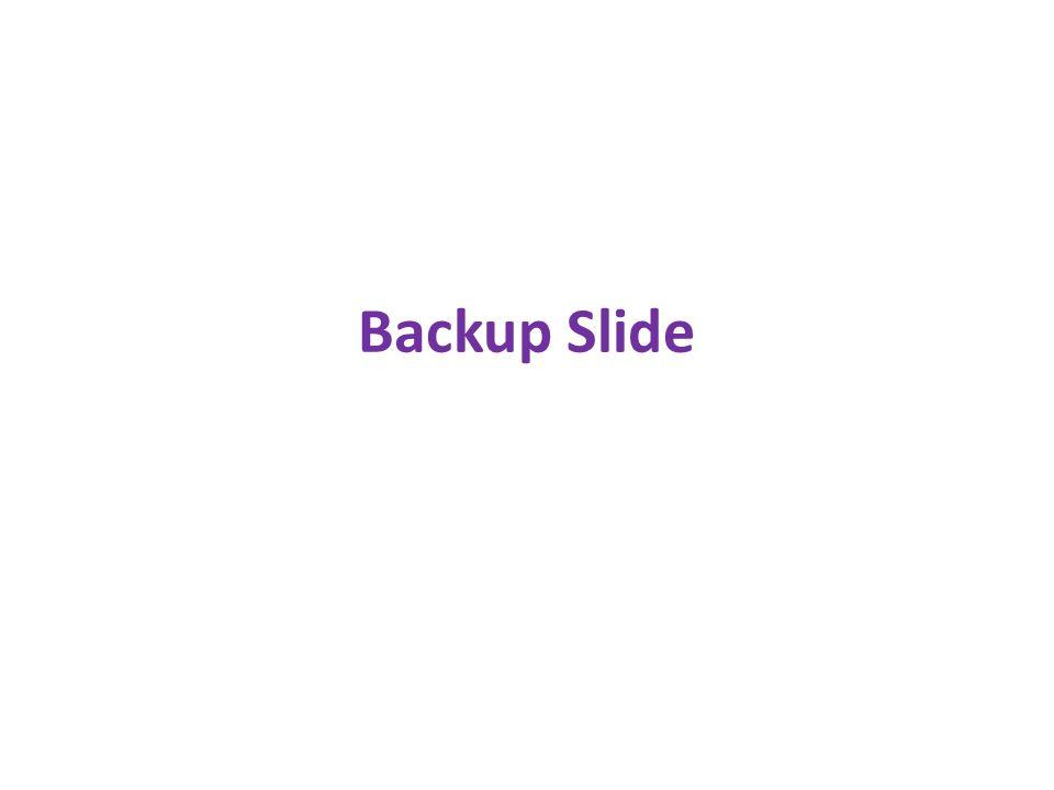 Backup Slide