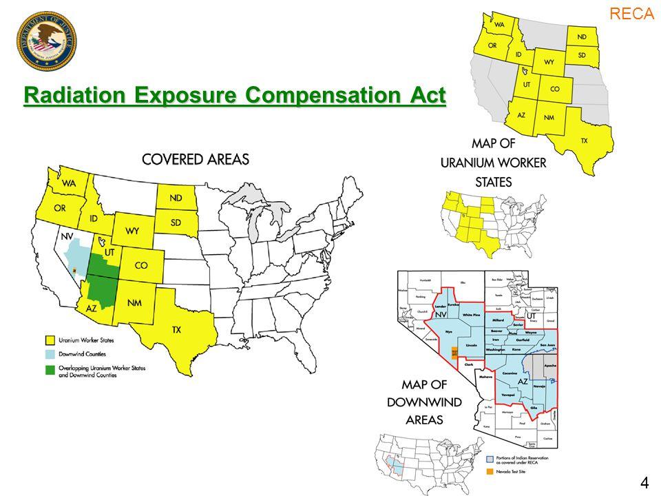 Radiation Exposure Compensation Act 4 RECA