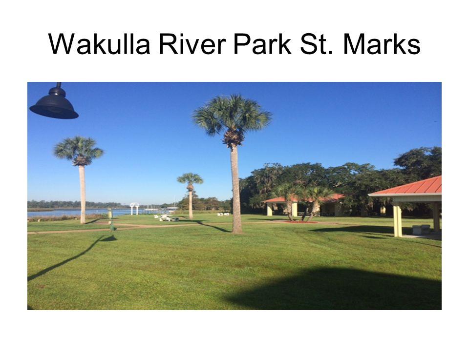 Wakulla River Park St. Marks