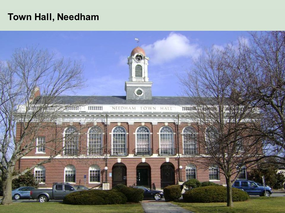 Town Hall, Needham