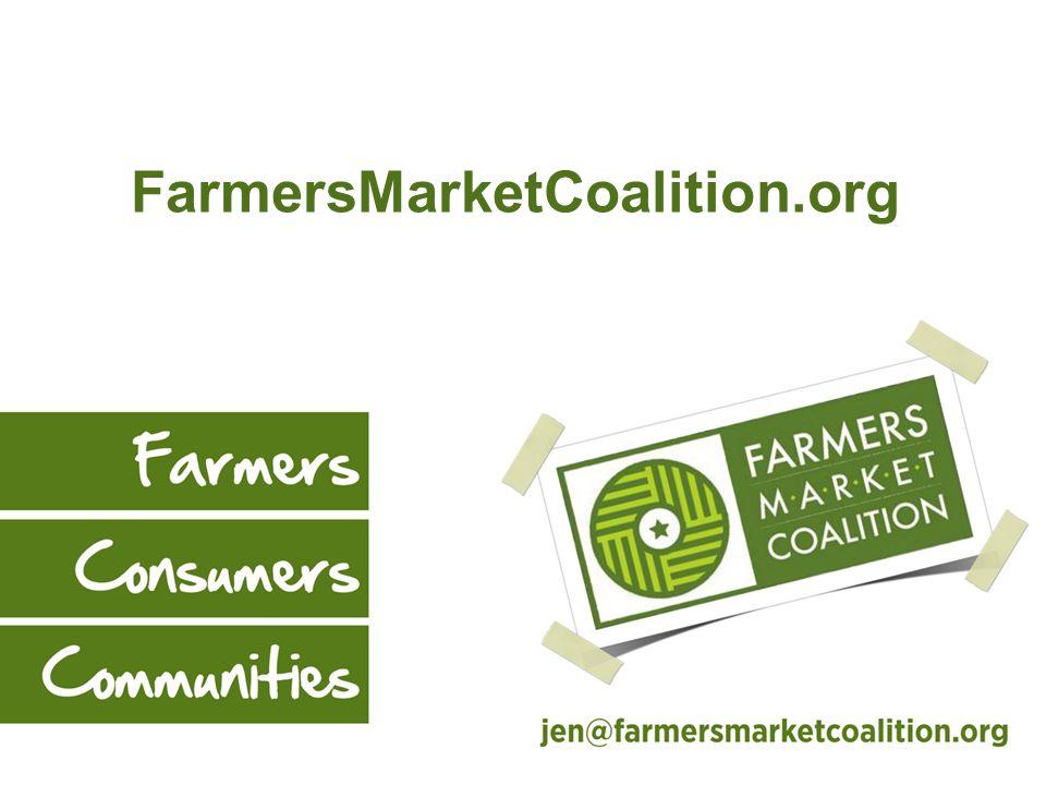 $8.7 Million for EBT Equipment @ Markets FY 2013 $4 M FY 2014 $700,000 FY 2012 $4 M States NAFMNP / MarketLink FMC New Markets & Farmers New Markets & Farmers Existing Markets & Farmers *NEW means SNAP authorized on or after Nov.