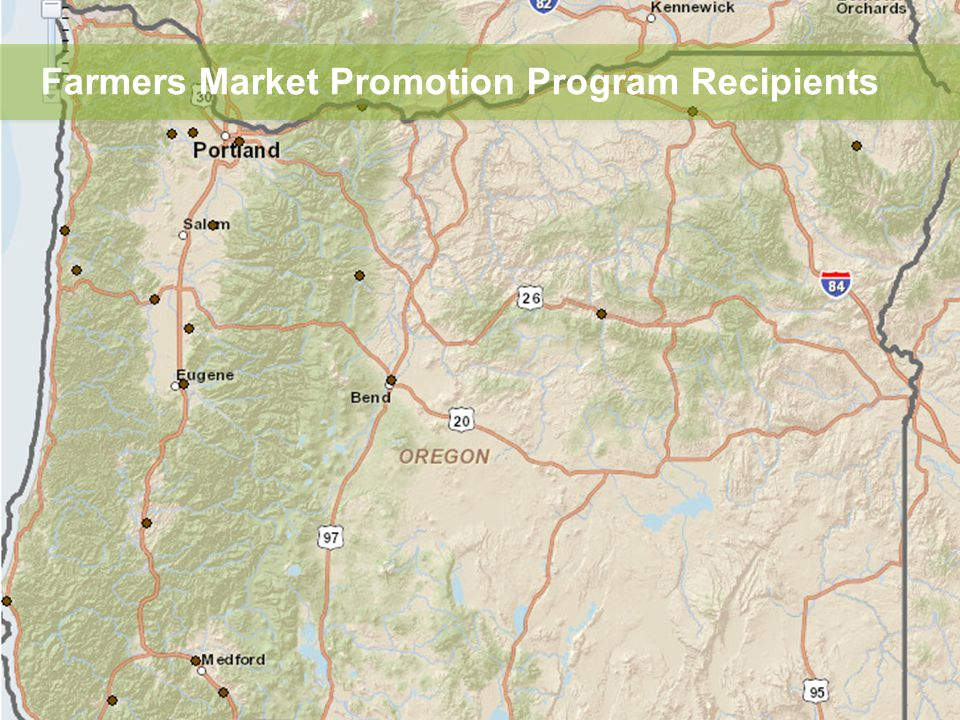 Farmers Market Promotion Program Recipients