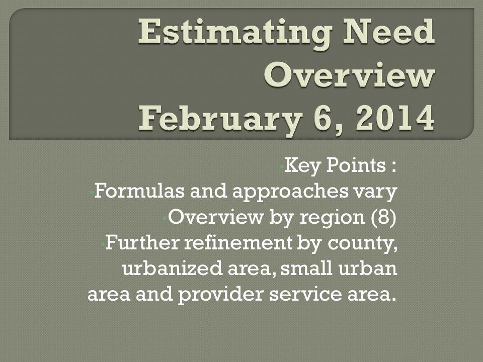  Urbanized Area: Designated by the U.S.