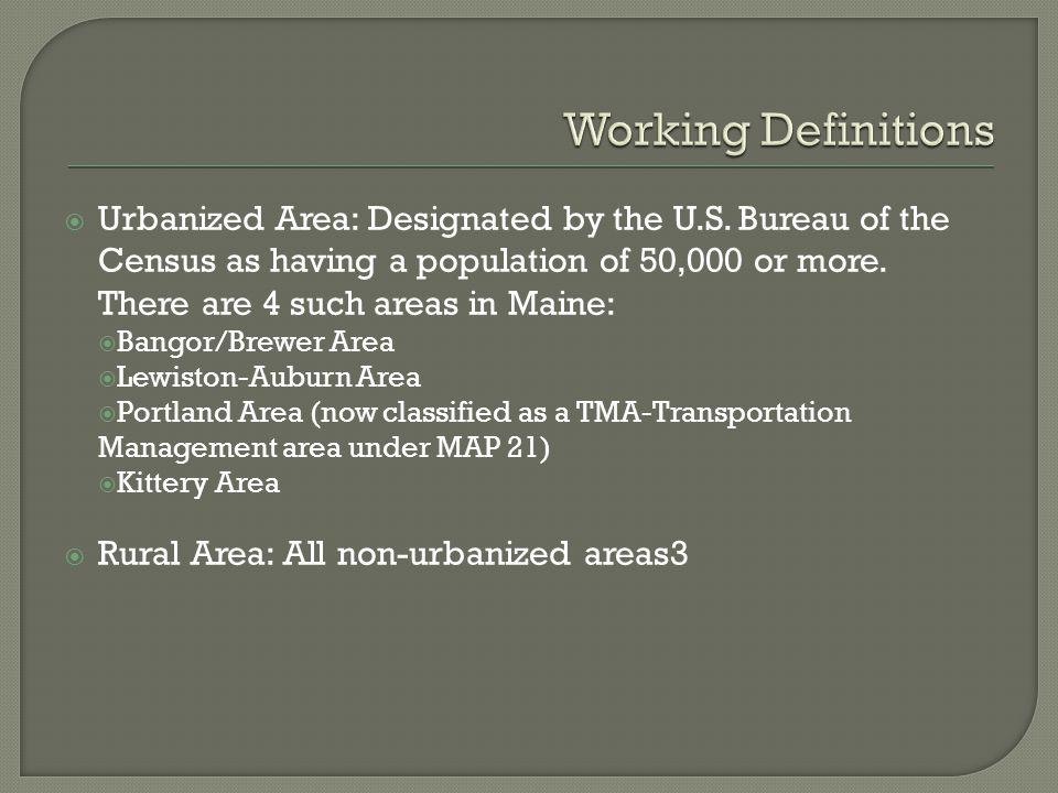  Waldo County Annual Need = 540,000 trips. Belfast = 104,700 trips, or 19% of county need.