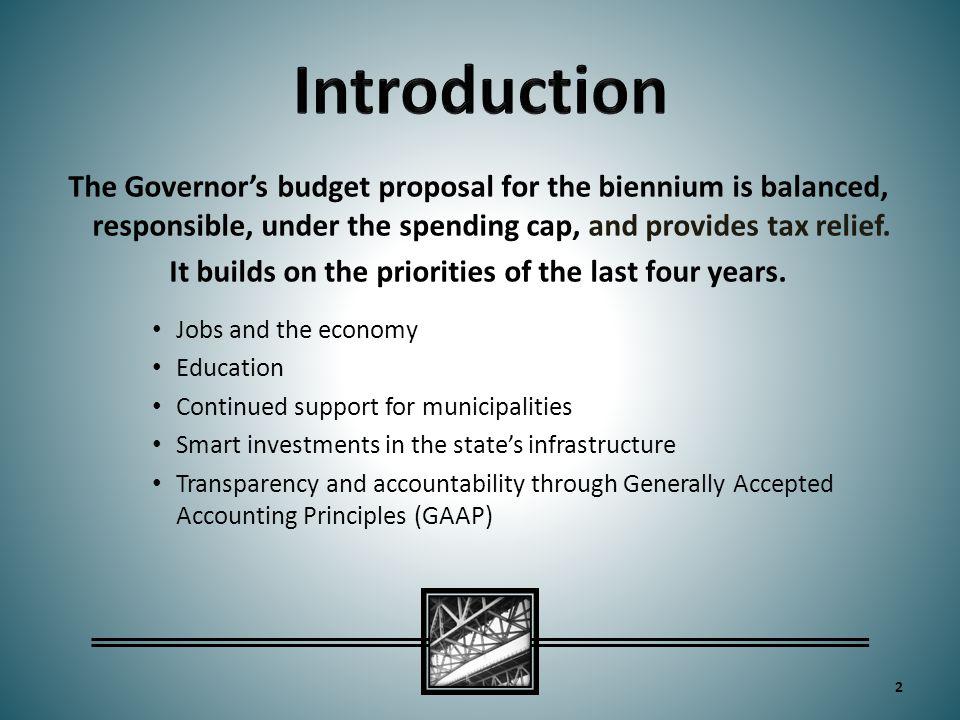 13 Revenue Proposals (in millions)