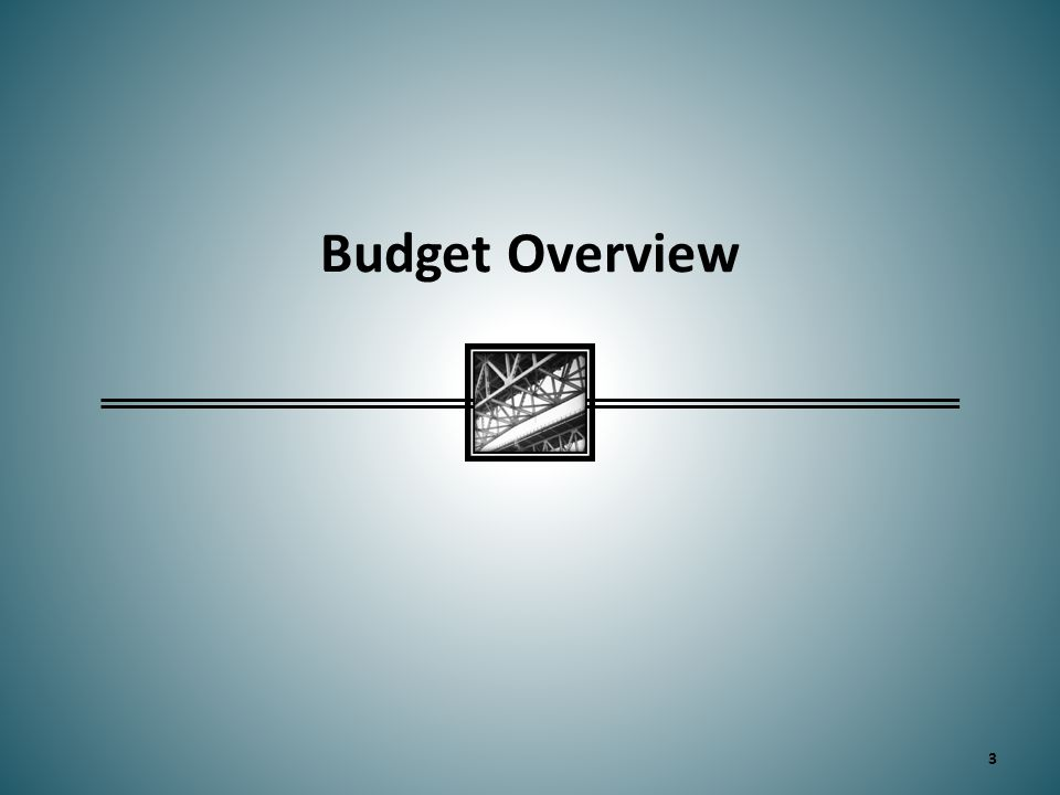 Budget Overview 3