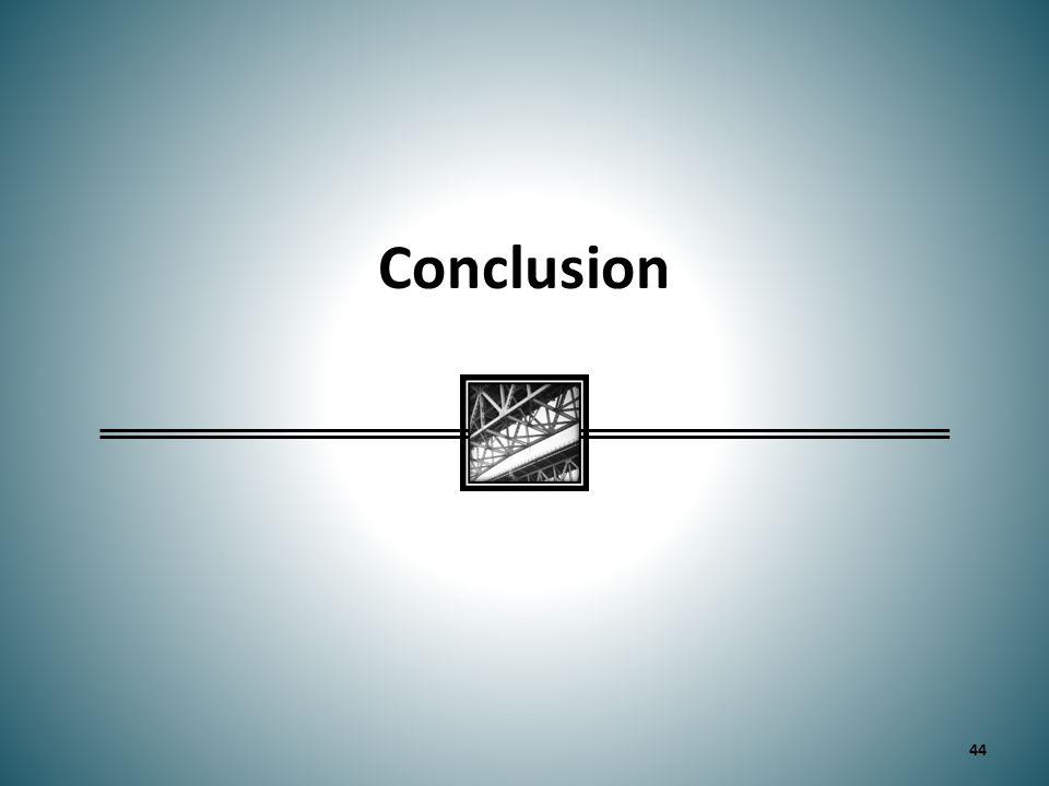 Conclusion 44