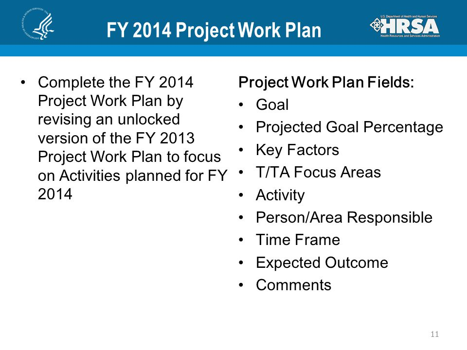 FY 2014 Project Work Plan Complete the FY 2014 Project Work Plan by revising an unlocked version of the FY 2013 Project Work Plan to focus on Activiti