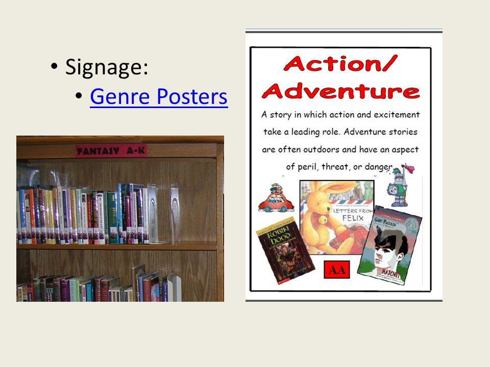 Signage: Genre Posters