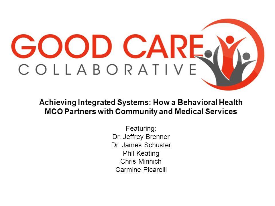 23© 2013 Community Care Behavioral Health Organization